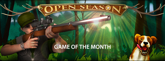 Game of the Month Bonuses with Cash Prizes